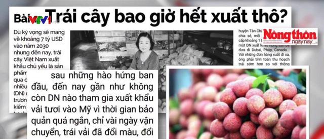 Làm sao để rau quả Việt ít xuất tươi? - ảnh 1