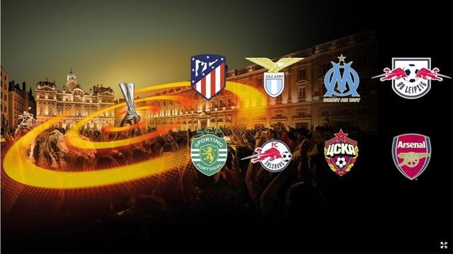 Kết quả lượt về vòng 1/8 UEFA Europa League: Atl Madrid, Arsenal tiếp tục thắng lớn - Ảnh 1.