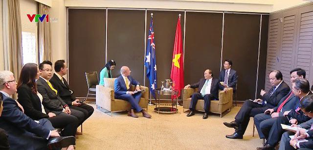 Thủ tướng tiếp lãnh đạo một số doanh nghiệp Australia - Ảnh 1.