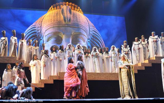 Biểu diễn opera dưới chân kim tự tháp Ai Cập - Ảnh 6.