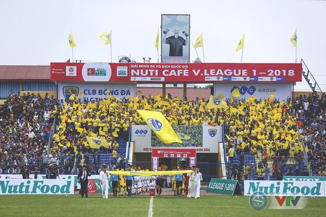 ẢNH: Đình Tùng tỏa sáng, FLC Thanh Hóa giành 3 điểm đầu tiên - Ảnh 1.