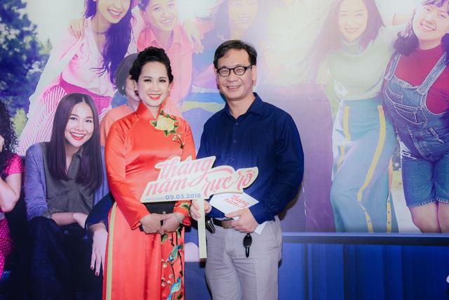 Dàn mỹ nhân của Tháng năm rực rỡ đọ sắc tại Hà Nội - Ảnh 12.