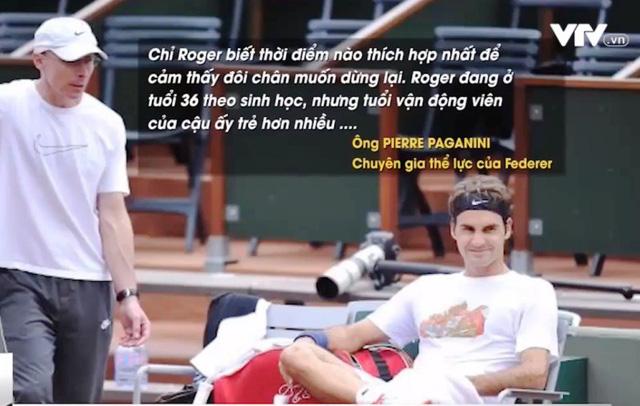 Roger Federer tiết lộ bí quyết vượt qua giới hạn tuổi tác - Ảnh 1.