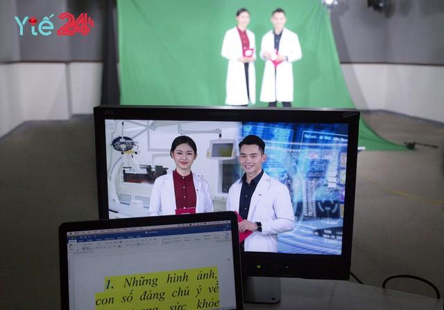 Á hậu Thanh Tú khoe thần thái rạng rỡ với công việc mới tại VTV - Ảnh 1.