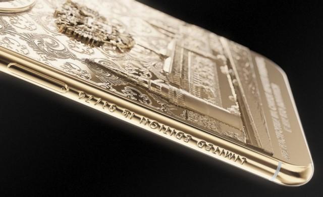 iPhone X vàng ròng in hình tổng thống Putin giá 5.000 USD - Ảnh 2.