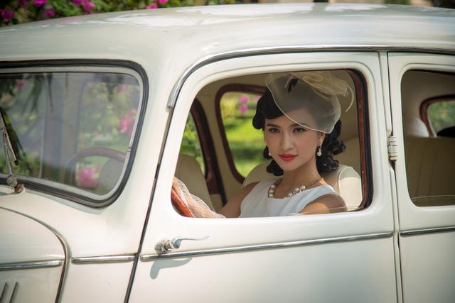 Kim Tuyến xinh hết nấc dù xuất hiện trong loạt ảnh hậu trường - Ảnh 2.