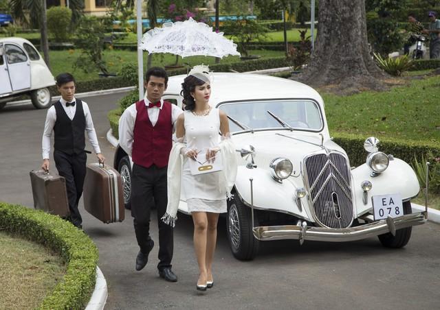 Kim Tuyến xinh hết nấc dù xuất hiện trong loạt ảnh hậu trường - Ảnh 8.