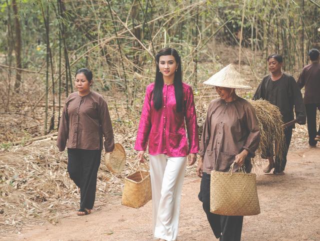 Kim Tuyến xinh hết nấc dù xuất hiện trong loạt ảnh hậu trường - Ảnh 5.