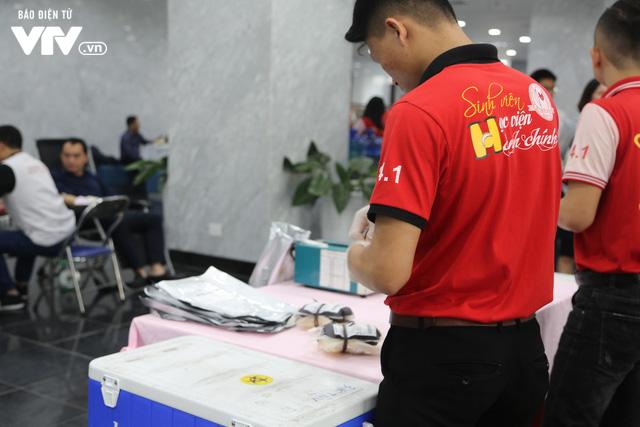 Cán bộ, nhân viên Đài THVN tích cực hưởng ứng Ngày Toàn dân hiến máu tình nguyện - Ảnh 11.