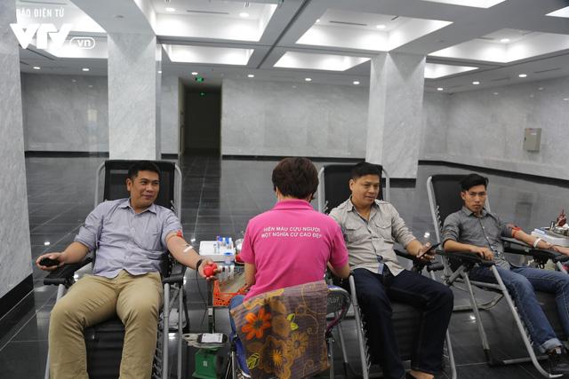 Cán bộ, nhân viên Đài THVN tích cực hưởng ứng Ngày Toàn dân hiến máu tình nguyện - Ảnh 10.