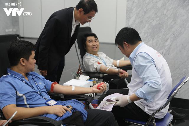 Cán bộ, nhân viên Đài THVN tích cực hưởng ứng Ngày Toàn dân hiến máu tình nguyện - Ảnh 7.