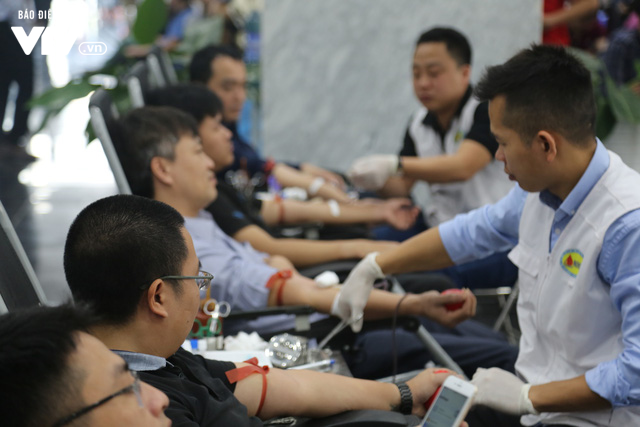 Cán bộ, nhân viên Đài THVN tích cực hưởng ứng Ngày Toàn dân hiến máu tình nguyện - Ảnh 9.