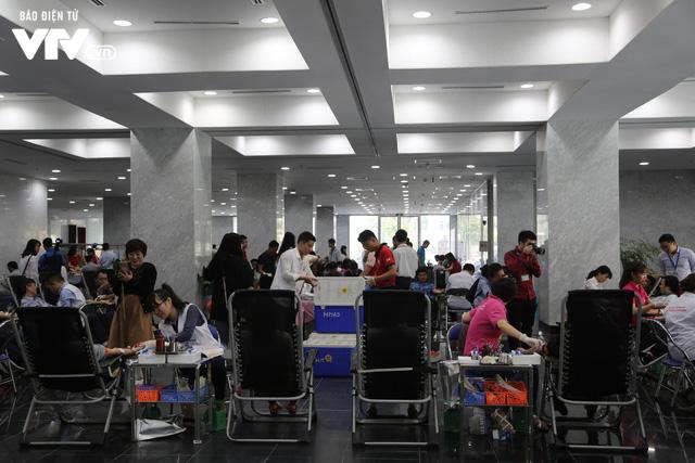 Cán bộ, nhân viên Đài THVN tích cực hưởng ứng Ngày Toàn dân hiến máu tình nguyện - Ảnh 8.
