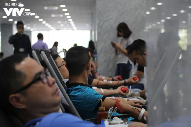 Cán bộ, nhân viên Đài THVN tích cực hưởng ứng Ngày Toàn dân hiến máu tình nguyện - Ảnh 14.