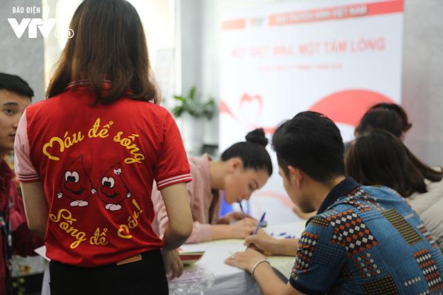 Cán bộ, nhân viên Đài THVN tích cực hưởng ứng Ngày Toàn dân hiến máu tình nguyện - Ảnh 1.