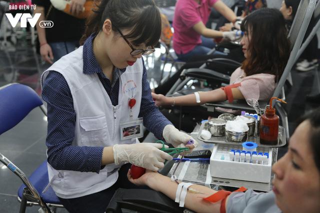 Cán bộ, nhân viên Đài THVN tích cực hưởng ứng Ngày Toàn dân hiến máu tình nguyện - Ảnh 15.