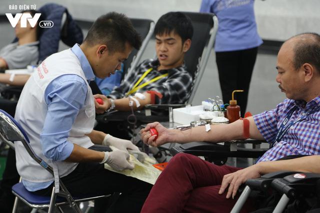 Cán bộ, nhân viên Đài THVN tích cực hưởng ứng Ngày Toàn dân hiến máu tình nguyện - Ảnh 16.