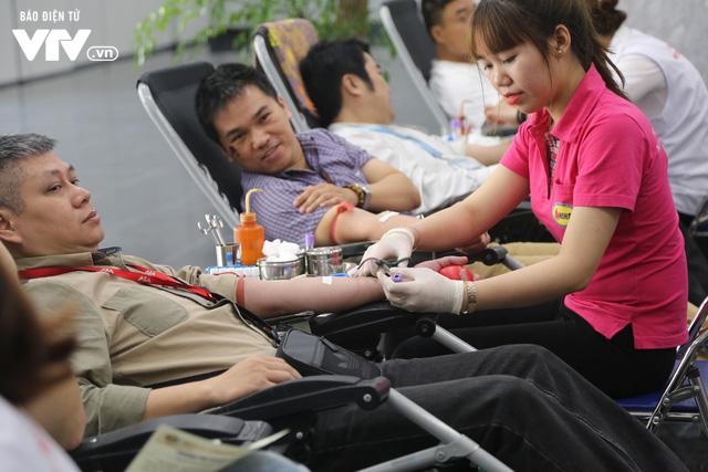 Cán bộ, nhân viên Đài THVN tích cực hưởng ứng Ngày Toàn dân hiến máu tình nguyện - Ảnh 17.