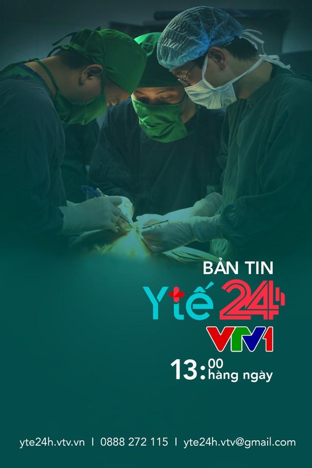 Ra mắt Bản tin Y tế 24h trên VTV1 và chuyên trang Y tế 24h trên VTV News - Ảnh 1.