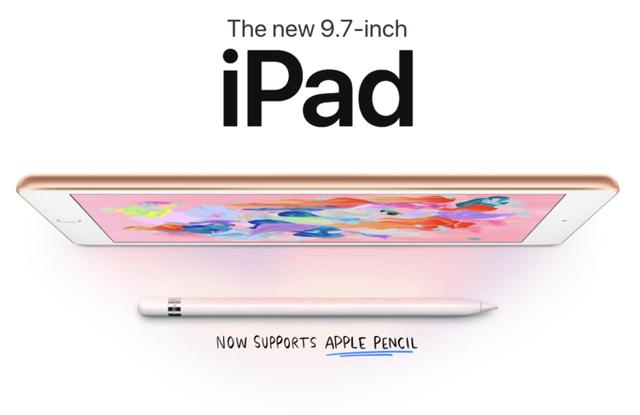 Apple ra mắt iPad 9,7 inch mới, giá siêu rẻ - Ảnh 2.