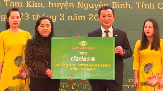 Xây dựng cây cầu dân sinh 1,5 tỷ đồng cho người dân vùng cao tỉnh Cao Bằng - Ảnh 3.