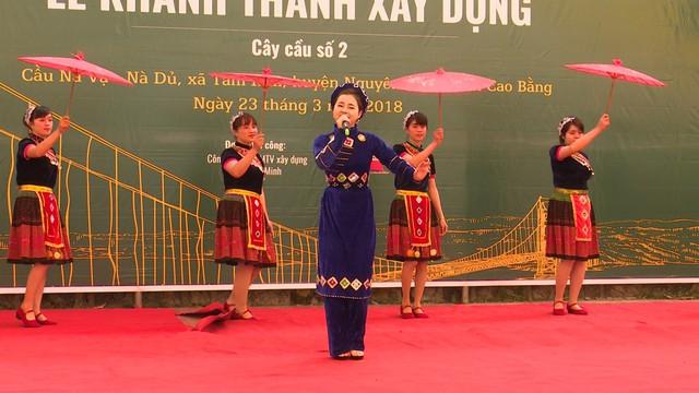 Xây dựng cây cầu dân sinh 1,5 tỷ đồng cho người dân vùng cao tỉnh Cao Bằng - Ảnh 5.
