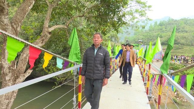 Xây dựng cây cầu dân sinh 1,5 tỷ đồng cho người dân vùng cao tỉnh Cao Bằng - Ảnh 14.