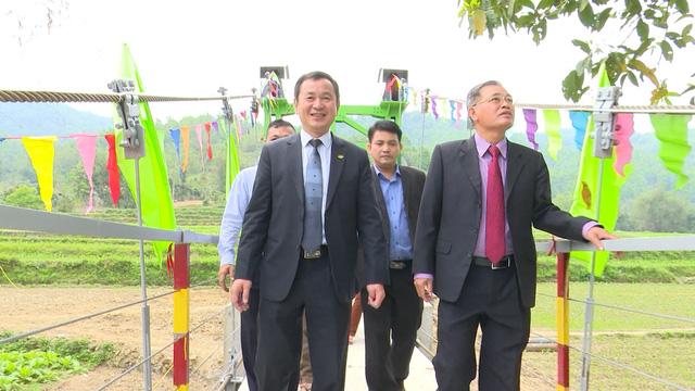 Xây dựng cây cầu dân sinh 1,5 tỷ đồng cho người dân vùng cao tỉnh Cao Bằng - Ảnh 15.
