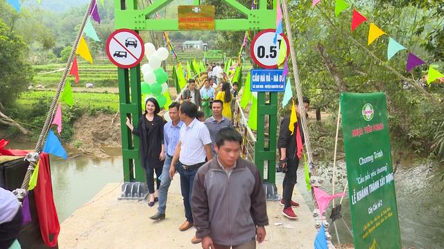 Xây dựng cây cầu dân sinh 1,5 tỷ đồng cho người dân vùng cao tỉnh Cao Bằng - Ảnh 16.