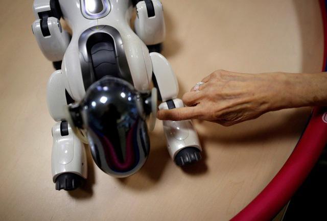 Robot biết làm nũng, khóc nhè mang lại niềm vui cho người già - Ảnh 3.