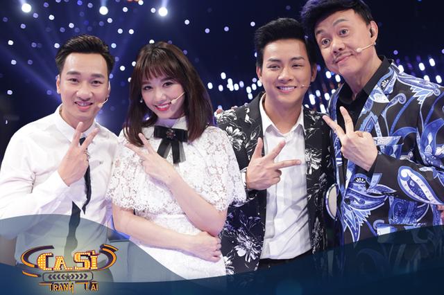 Hari Won, Hoài Lâm, Chí Tài siêu lầy lội trong tập 4 Ca sĩ tranh tài - Ảnh 2.