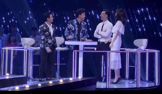 Hari Won, Hoài Lâm, Chí Tài siêu lầy lội trong tập 4 Ca sĩ tranh tài - Ảnh 4.