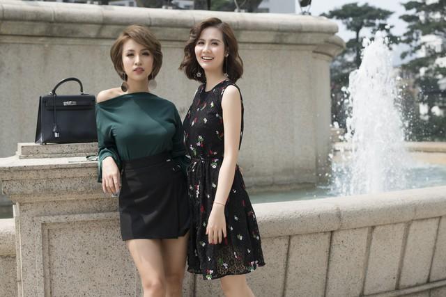 Sao phim Ngược chiều nước mắt xinh đẹp dạo phố cùng MC Thanh Vân Hugo - Ảnh 6.