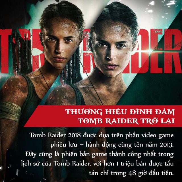 4 lí do tín đồ điện ảnh đang phát cuồng vì bom tấn Tomb Raider 2018 - Ảnh 1.