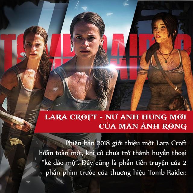 4 lí do tín đồ điện ảnh đang phát cuồng vì bom tấn Tomb Raider 2018 - Ảnh 2.