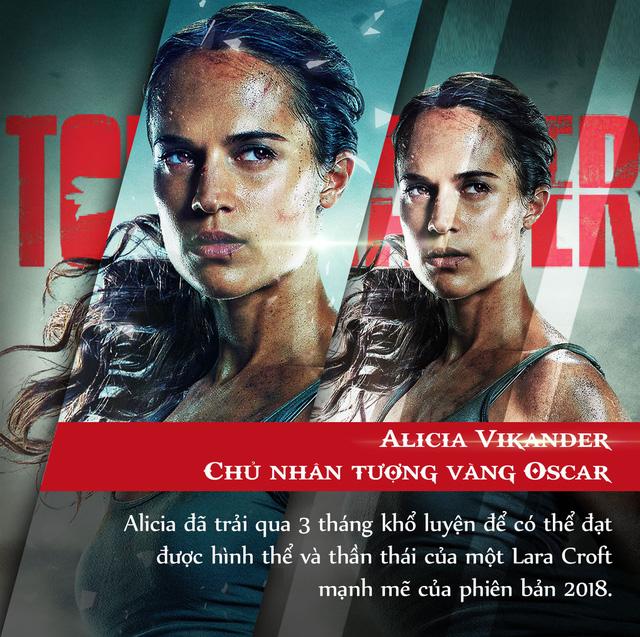4 lí do tín đồ điện ảnh đang phát cuồng vì bom tấn Tomb Raider 2018 - Ảnh 3.