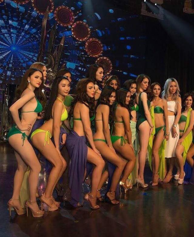 Hương Giang Idol nóng bỏng trong phần thi bikini tại Hoa hậu Chuyển giới Quốc tế - Ảnh 3.