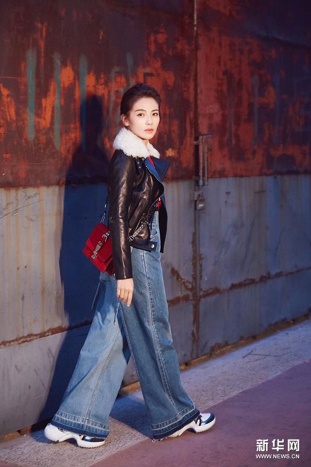 Lưu Đào - Mỹ nhân phim cổ trang Trung Quốc khoe sắc trên đường phố Paris - Ảnh 2.