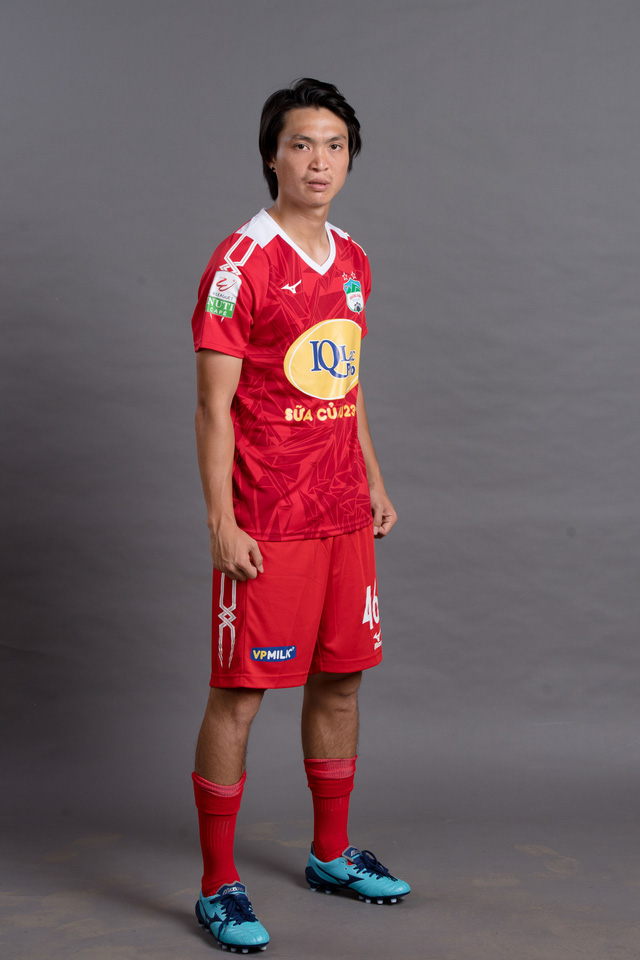 ẢNH: Chiêm ngưỡng Xuân Trường, Công Phượng, Văn Thanh và các cầu thủ HAGL trong áo đấu mới mùa giải 2018 - Ảnh 3.