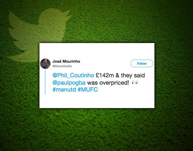 Cổ động viên Man Utd chế giễu Barcelona chiêu mộ Coutinho - Ảnh 1.
