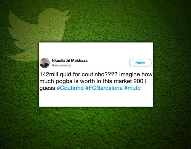 Cổ động viên Man Utd chế giễu Barcelona chiêu mộ Coutinho - Ảnh 2.