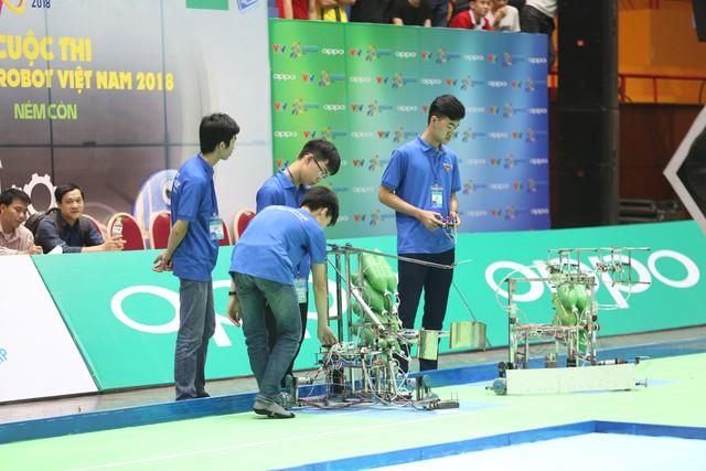 Robocon Việt Nam 2018: Một số đội tuyển gây ấn tượng ngay từ buổi thử sân - Ảnh 5.