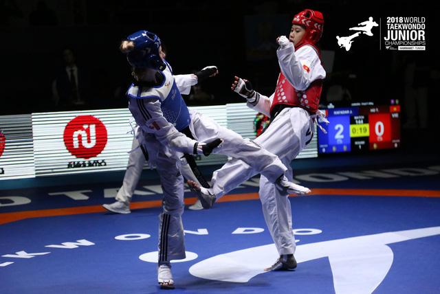 Kim Ngân lần thứ 2 vô địch Giải Taekwondo trẻ thế giới - Ảnh 2.