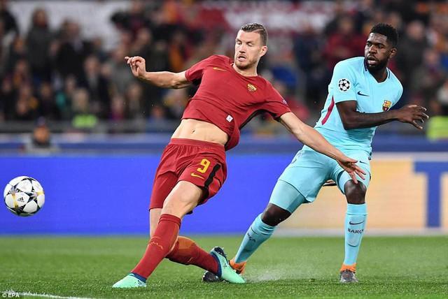 ẢNH: AS Roma ngược dòng không tưởng, loại Barcelona khỏi Champions League - Ảnh 2.