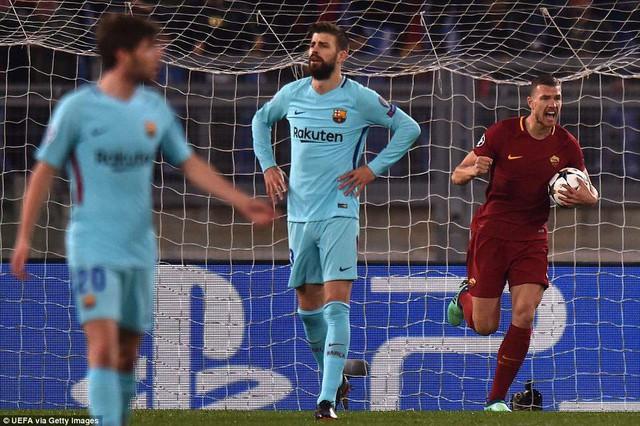 ẢNH: AS Roma ngược dòng không tưởng, loại Barcelona khỏi Champions League - Ảnh 3.