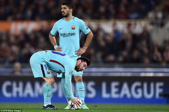 ẢNH: AS Roma ngược dòng không tưởng, loại Barcelona khỏi Champions League - Ảnh 6.