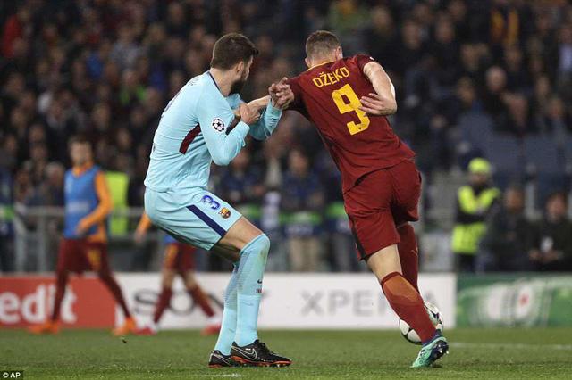 ẢNH: AS Roma ngược dòng không tưởng, loại Barcelona khỏi Champions League - Ảnh 5.