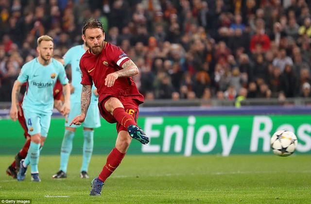 ẢNH: AS Roma ngược dòng không tưởng, loại Barcelona khỏi Champions League - Ảnh 8.
