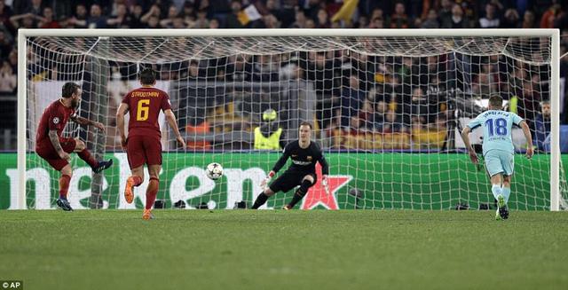 ẢNH: AS Roma ngược dòng không tưởng, loại Barcelona khỏi Champions League - Ảnh 7.