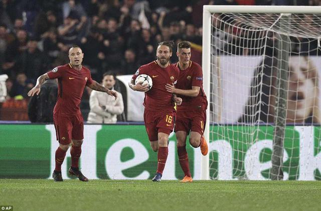 ẢNH: AS Roma ngược dòng không tưởng, loại Barcelona khỏi Champions League - Ảnh 9.